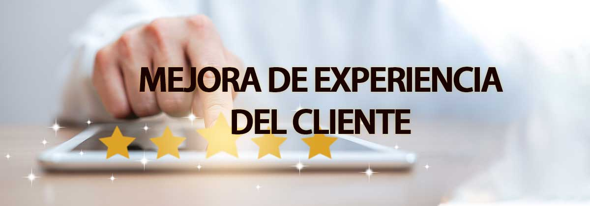 mejora la experiena del cliente